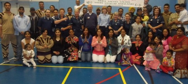 UK Blood camp group photo