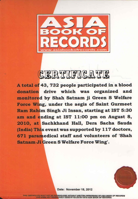 People-Participated in Blood Donation Drive