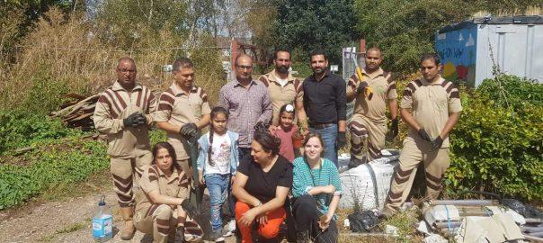 Green 'S' Volunteers conduct Tree Plantation Drive in London, UK celebrating Birthday of True Master Saint Dr. MSG