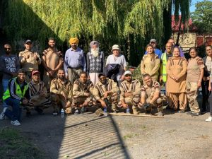 Green 'S' Welfare force conduct the event on 19 October 2019 Saturday