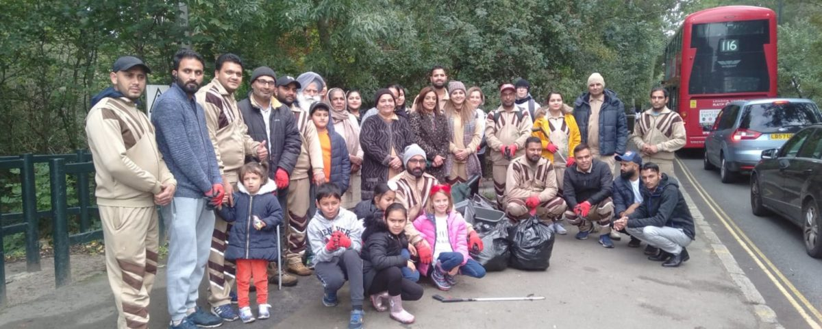 Green Welfare conducted Cleaning campaign on Donkey Wood Park Feltham in London