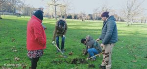 Tree Planting by UK Sangat