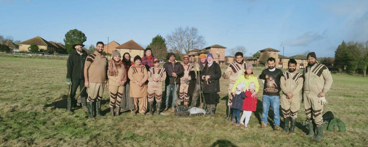 UK Sadh Sangat Tree Planting