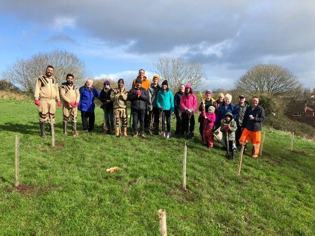 tree planting 29th feb 2020 in UK