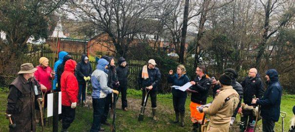 Tree Planting UK 16th Feb 2020