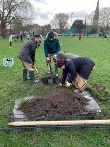 UK Tree Planting 8th Feb