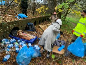 Cleaning Camp in UK